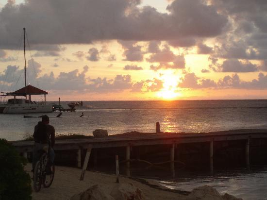Coco Beach Resort: Sunrise from the hammock