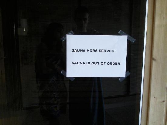 Paxton Resort & Spa : le Sauna tant attendu...