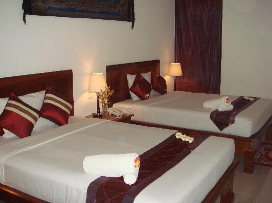 Preah Vihea Hotel : Deluxe Twin Room