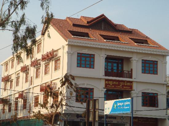 Preah Vihea Hotel : Hotel Building
