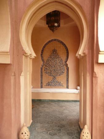 La Setifa Maison d'hotes: le porche d'entrée