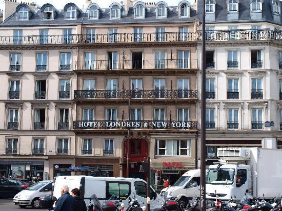 fachada del hotel picture of londres et new york hotel paris tripadvisor. Black Bedroom Furniture Sets. Home Design Ideas