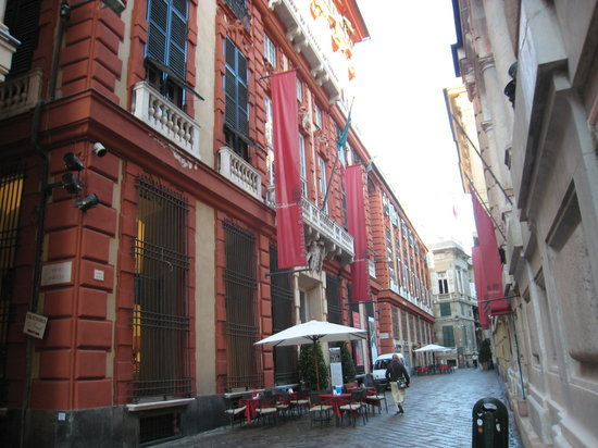Genoa, Italy: Palazzo Rosso,  with excellent art work and beautiful rooms
