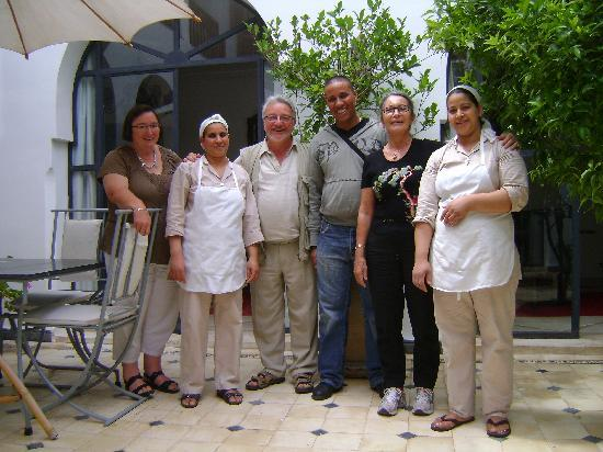"Riad Alma : ""en famille"""