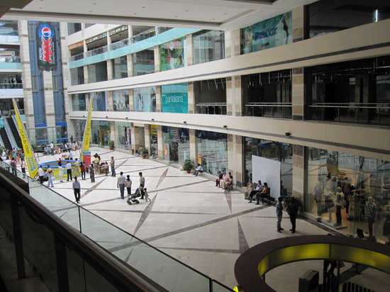 Gurugram (Gurgaon), India: Inside the Ambience mall, Gurgaon