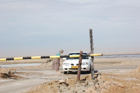 Swakopmund, Namibia: Salzwüste bei Walfish Bay