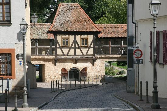 Ansbach, Germany: Alte Stadtmauer