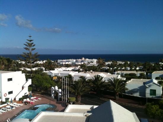 Apartamentos Villa Canaima: View from our apartment balcony