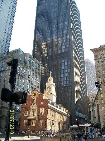 Boston, MA: Old State Hall