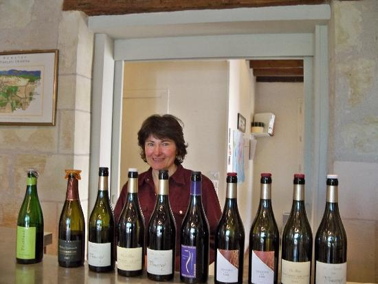 Loire Uncorked : Tasting at Francois Chidaine