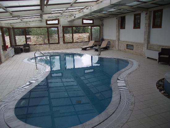 Nostos Hotel: Indoor pool and spa  (excellent)