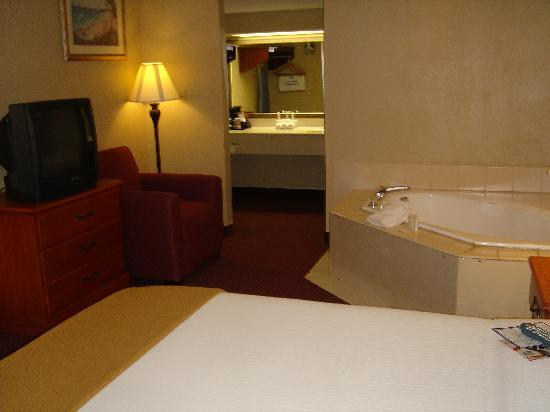 Marianna, FL: Jacuzzi Suite