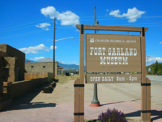 Fort Garland, CO: Museum Entrance