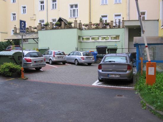 Marianske Lazne, República Checa: Der immer offene Parkplatz