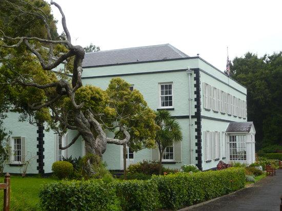 St Helena Island: Plantation House exterior