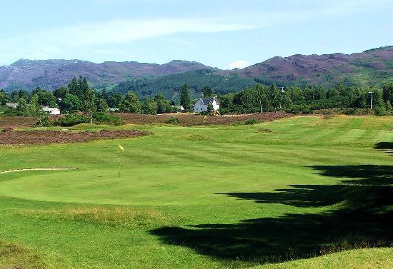 Fort Augustus Golf Club: 5th Green