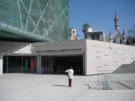 ซันเตียโก, ชิลี: entryway