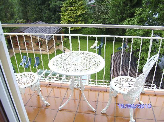 Hotel Villa Bellaria: Der Balkon