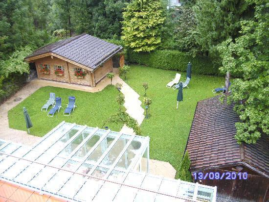 Hotel Villa Bellaria: Sauna außen sehr schön