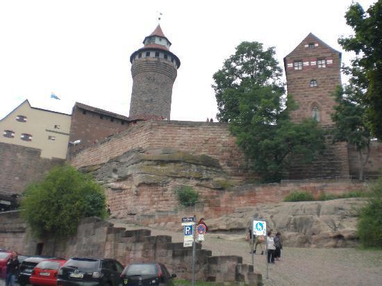 Nürnberg, Deutschland: Burg
