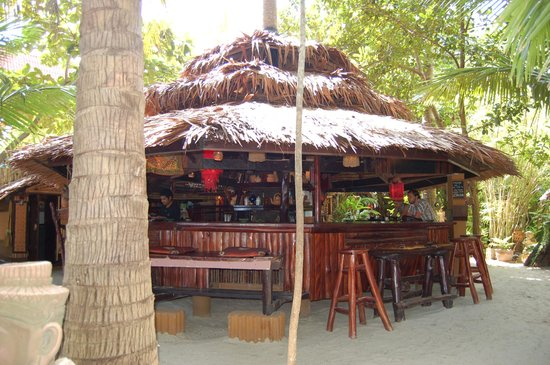 Dolphin Bungalows: reception, bar, restaurant