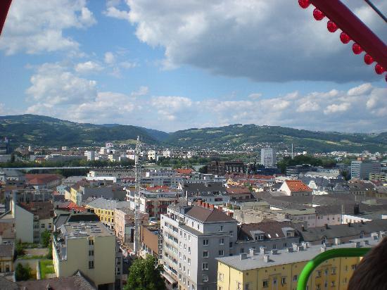 Linz in Richtung Mühlviertler Mostbauern