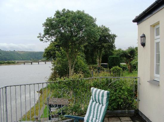 Riverside Cottage Guesthouse: Photo from our balcony