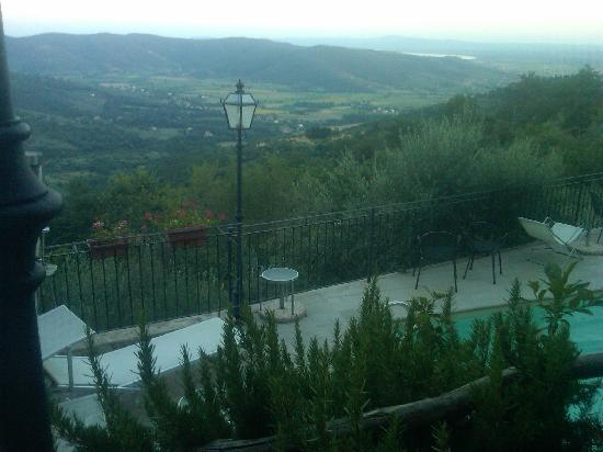 RistoArte Corys: VIEW WHILE DINING OUTDOORS