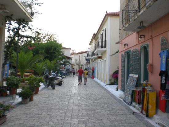 Finikounda, Hellas: Die Fußgängerzone