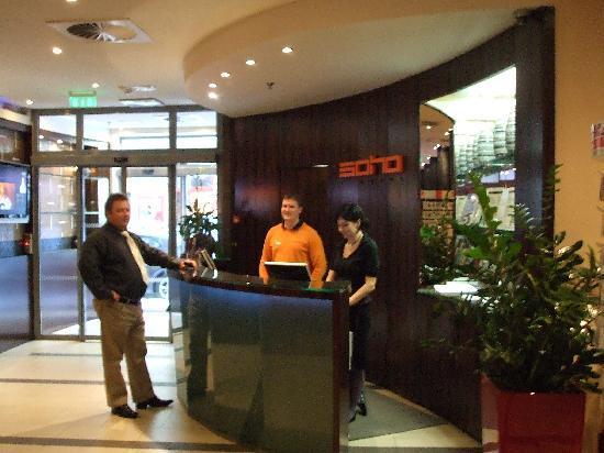 Soho Boutique Hotel: Reception