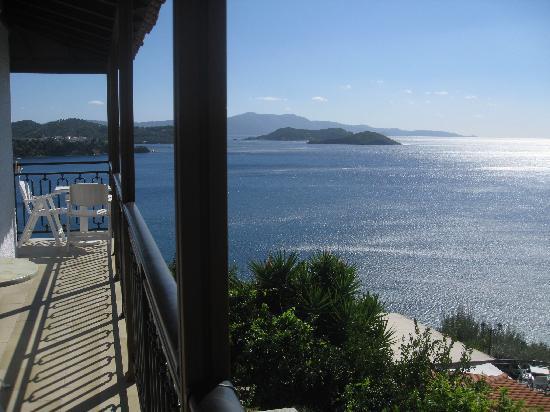 Villa Melia: the sea view from the windows