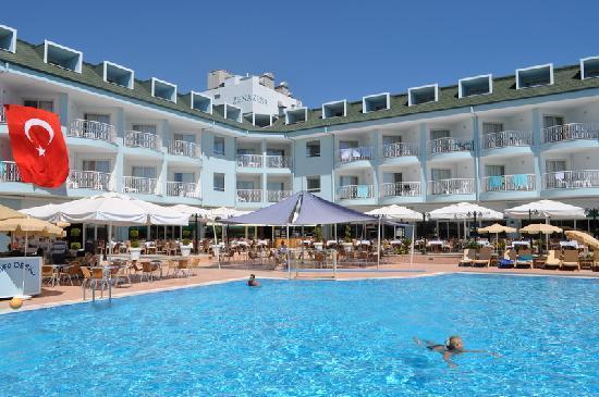 Camyuva, Turquie : Hotel swiming pool