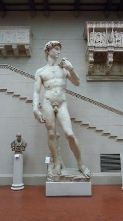 Musée des beaux-arts Pouchkine : David plaster cast