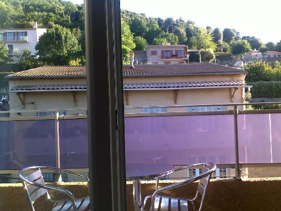 Piana, France: vue avant chambre au 2ième