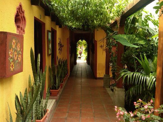 Hotel Casa Antigua: Beautiful hallways.