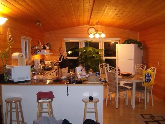 Point West Cottages : Kitchen
