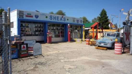 Shea's Gas Station on Route 66