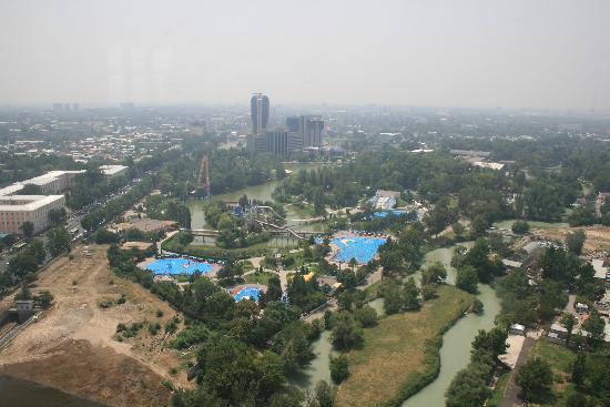 Taškent, Uzbekistan: Taschkent: Blick vom Fernsehturm