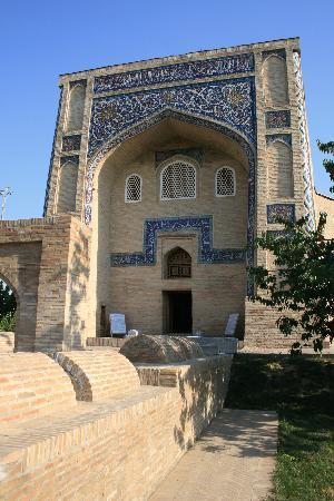 Tashkent, Uzbekistan: Taschkent: Mausoleum Kaffal Shashi