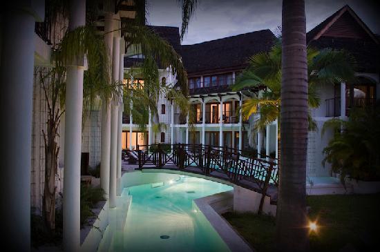 Le Saint Alexis Hotel & Spa: St alexis la nuit