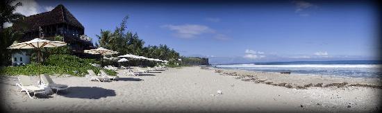 Le Saint Alexis Hotel & Spa: la plage du st alexis
