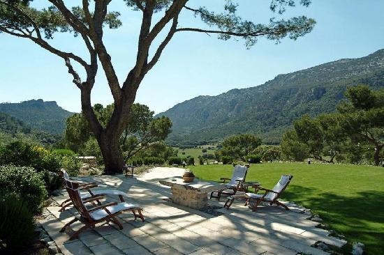 Orient, Spain: gardens