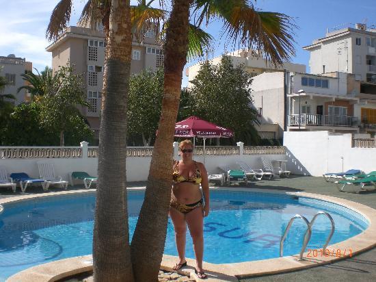 Hotel Sur: EN LA PISCINA
