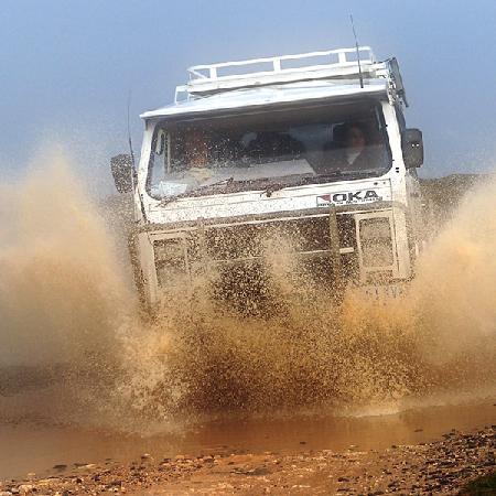 King Island, أستراليا: Ian's OKA 4WD