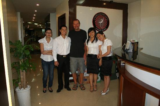 Rising Dragon Grand Hotel: John in the middle