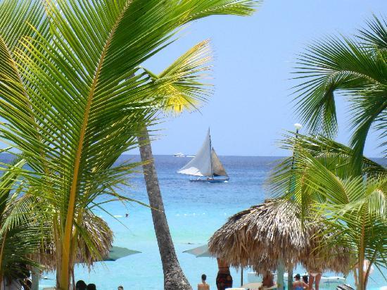 Bayahibe, جمهورية الدومينيكان: Belle couleur plage de bayahibé