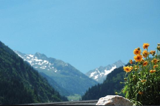 Disentis, Switzerland: blick vom balkon