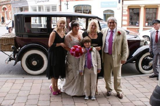 The Grosvenor Arms : Arriving at the Grosvenor