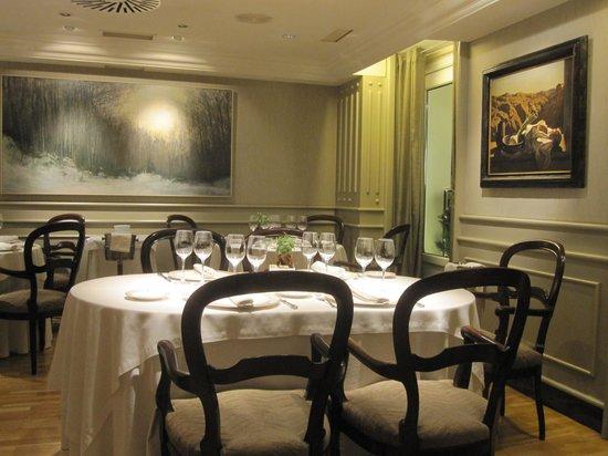 Restaurante Europa: intérieur du restaurant