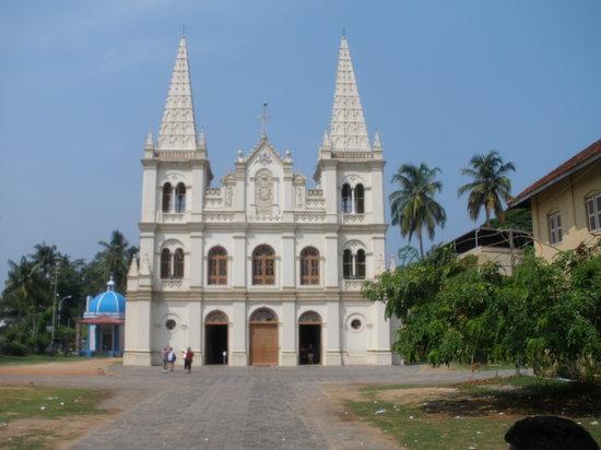 Kochi, Indien: santa cruz